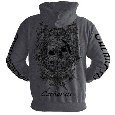 Machine Head Catharsis Grey Zip Back