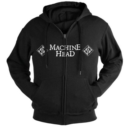 Machine Head Moth Zip Front