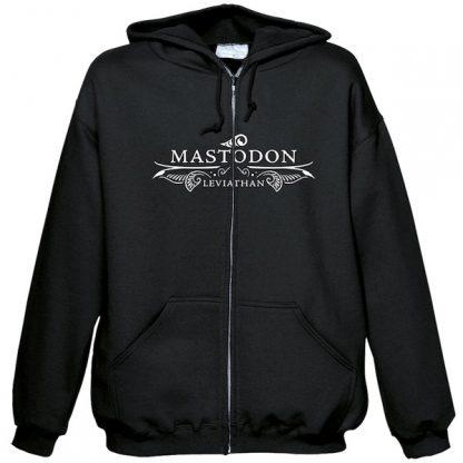 Mastodon Leviathan Zip Front