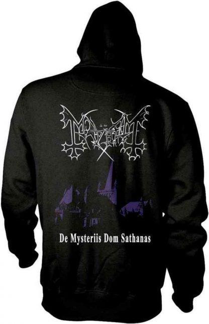 Mayhem De Mysteriis Dom Sathanas Zip Back