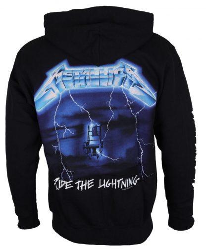Metallica Ride The Lightning Zip Back