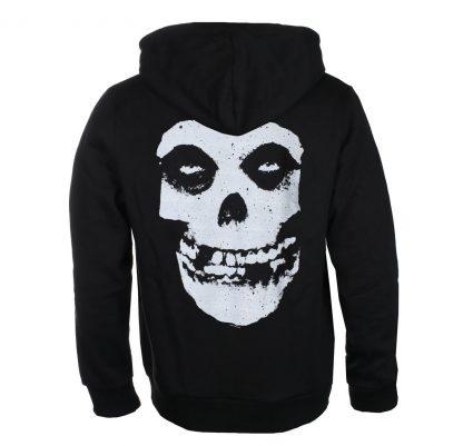 Misfits Skull Zip Back