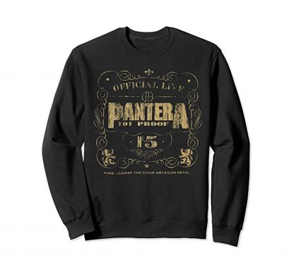Pantera 101 Proof Sweater Front
