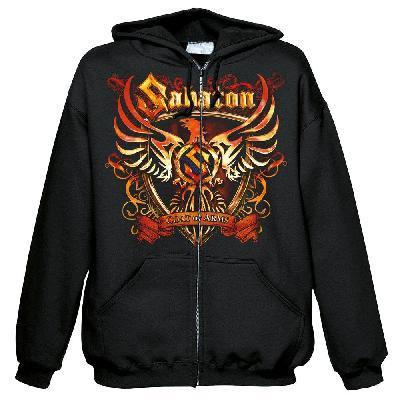 Sabaton Coat Of Arms Zip Front