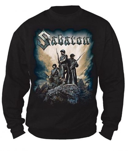 Sabaton Victory Reclaimed Sweater Front