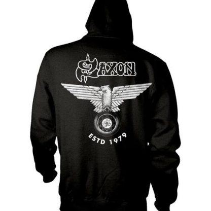 Saxon Est 1979 Zip Back