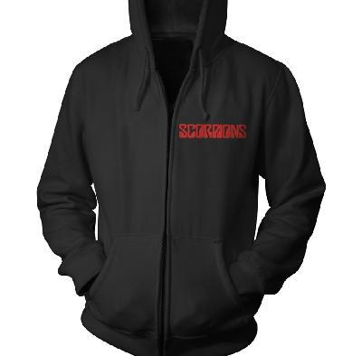 Scorpions Black Out Zip Front