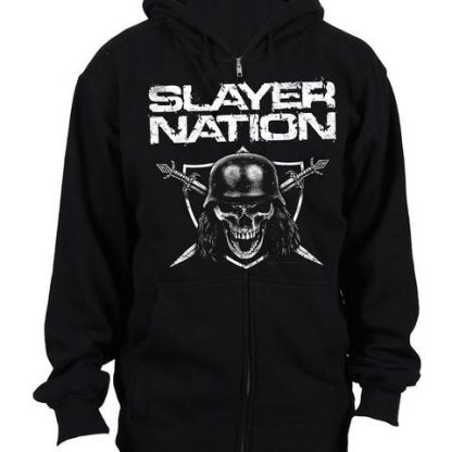 Slayer Nation Zip Front