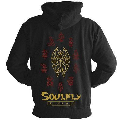 Soulfly Riual Zip Back