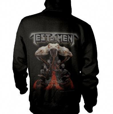 Testament Brotherhood Zip Back