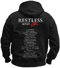 Accept Restless And Live Zip Back