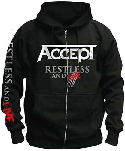 Accept Restless And Live Zip Front