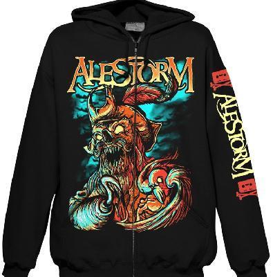 Alestorm Get Drunk Or Die Zip Front