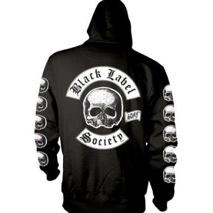 Black Label Society Logo Hs Back