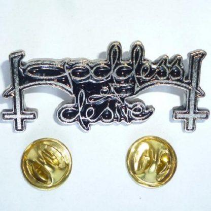 goddess of desire logo pin
