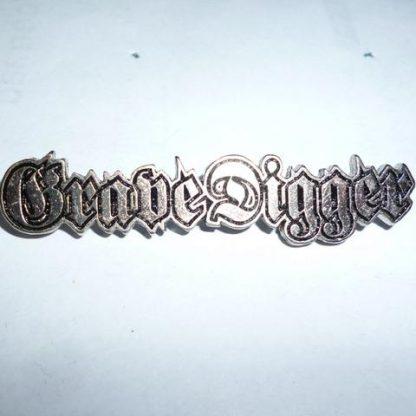 grave digger logo pin