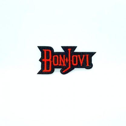 Bon Jovi Logo Cutout Patch