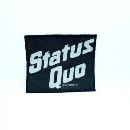 Status Quo Logo Patchs