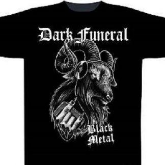Dark Funeral Black Metal Mens Band Shirt Front