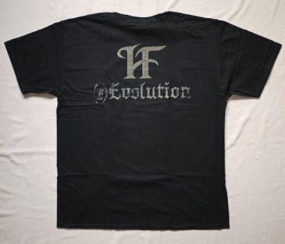 Hammerfall Evolution Mens Band Shirt Back