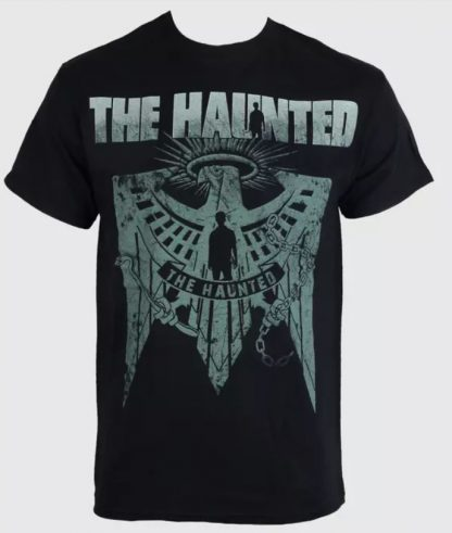 Haunted The Eagele Mens Band Shirt Front