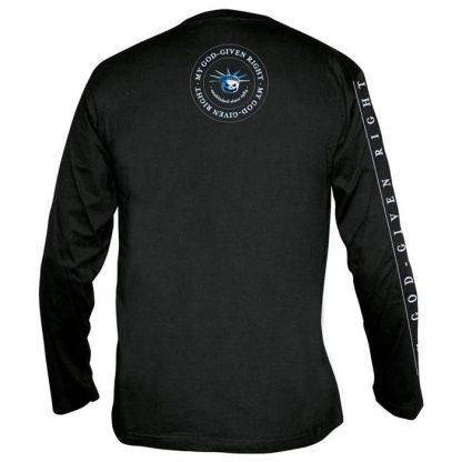 Helloween God Given Right Mens Longsleeve Band Shirt Back