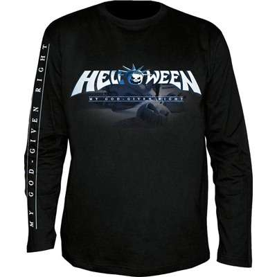 Helloween God Given Right Mens Longsleeve Band Shirt Front